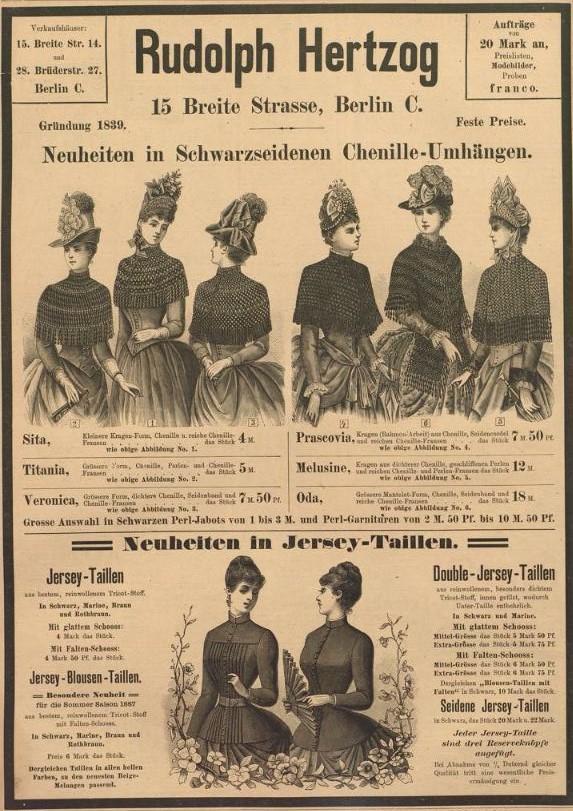 000_Der Bazar_33_1887_p232_Kaufhaus_Stoffe_Konfektionswaren_Rudolph-Hertzog