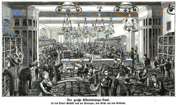 000_Illustrirte Zeitung_078_1882_p269_Versandgeschäft_Rudolph-Hertzog_Berlin_Textilien