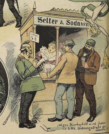 Der Wahre Jacob_11_1894_p1776_Sachsen_Bierboykott_Seltersbude