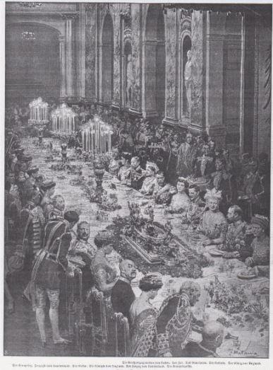 Die Woche_15_1913_p907_Gala_Berlin_Heirat_Hohenzollern