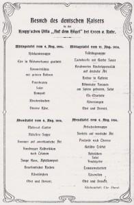 Kochkunst_08_1906_p278_Menükarte_WilhelmII_Krupp_Essen_Villa-Hügel