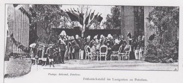 Lindenberg_1898_p059_Potsdam_Hohenzollern_Frühstück