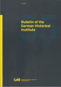 Titelblatt_B07_The Challenge of Biography_GHI-Bulletin 55_2014