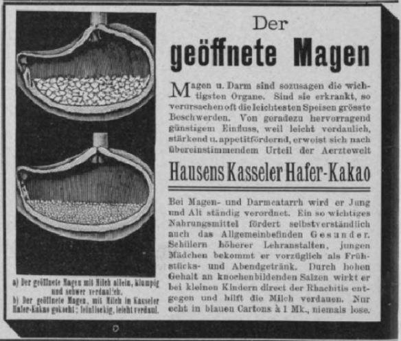00_Über Land und Meer_088_1902_p518_Ersatzkakao_Magen_Kasseler-Haferkakao_Hausen