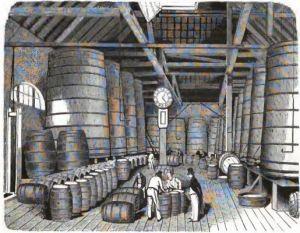 00_Das neue Buch der Erfindungen, Gewerbe und Industrien_1867_BdV_p197_Essigfabrik