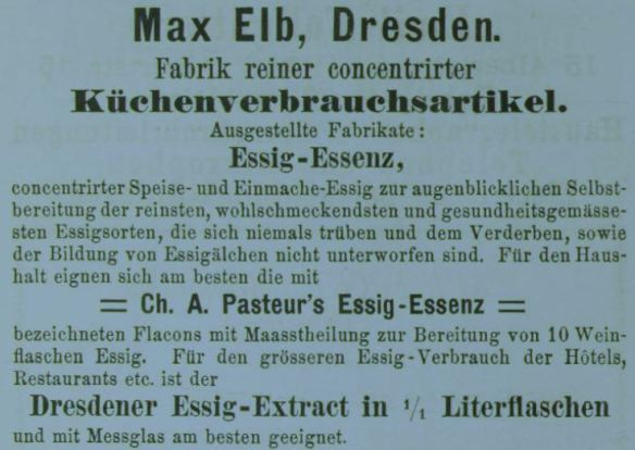 00_Führer_1883_Kochkunstausstellung_Annoncen_p25_Essigessenz_Max-Elb_Dresden