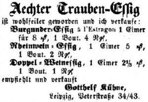 00_Leipziger Zeitung_1859_08_03_Nr182_Beilage2_p1_Essig_Kühne