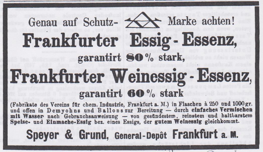 00_Pharmaceutische Centralhalle für Deutschland_39_1898_Nr18_pII_Essigessenz_Speyer-Grund_Frankfurt-M
