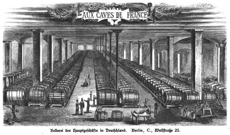 06-Illustrirte Zeitung_078_1882_p415_Weinindustrie_Oswald-Nier_Kellerei_Berlin