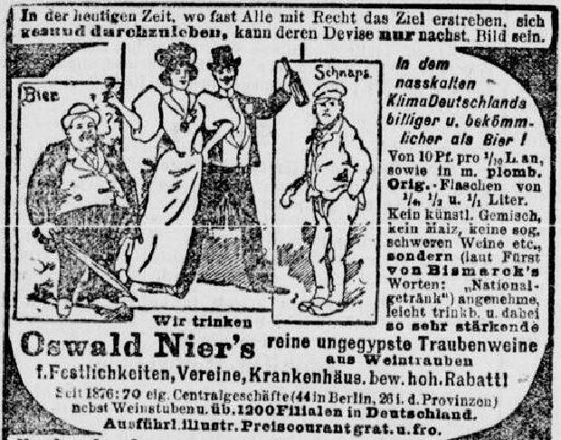 09-Volks-Zeitung_1901_05_24_Nr239_p02_Oswald-Nier_Temperenzbewegung_Wein-Bier-Schnaps
