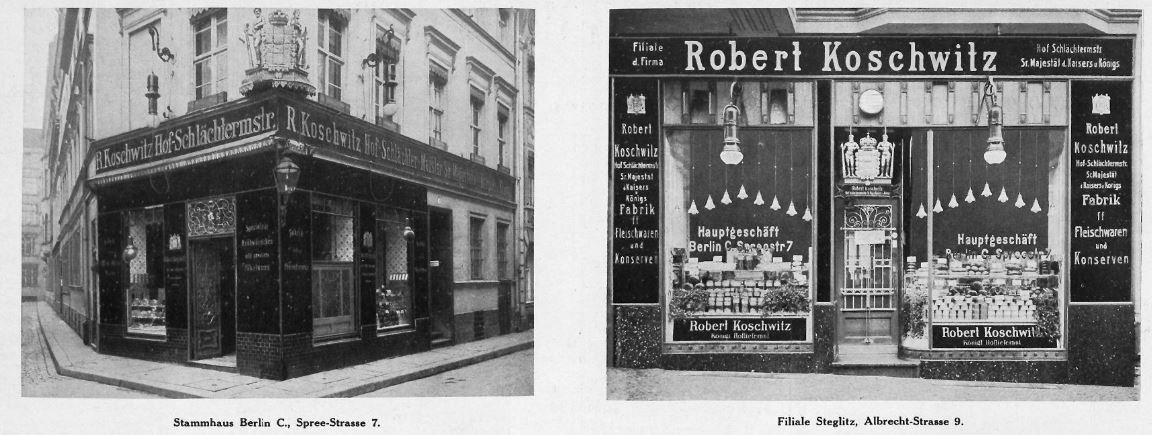 05_Berliner Leben_17_1914_Nr12_sp_Filialgeschäft_Fleischwaren_Konserven_Robert-Koschwitz_Schaufenster
