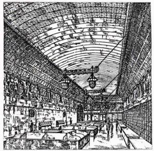 06_Zeitschrift für Waren- und Kaufhäuser_13_1914_04_19_Nr16_p18c_Warenhaus_Leonhard-Tietz_Verkaufsräume_Köln_Lebensmittel