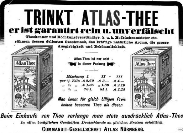 08_Illustrirte Zeitung_101_1893_p717_Tee-Atlas_Verpackung_Qualität