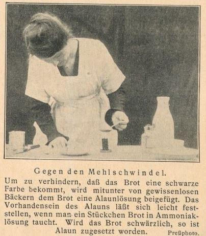 10_Illustrierte Technik für Jedermann_03_1925_p077_Nahrungsmittelkontrolle_Mehl_Alaun