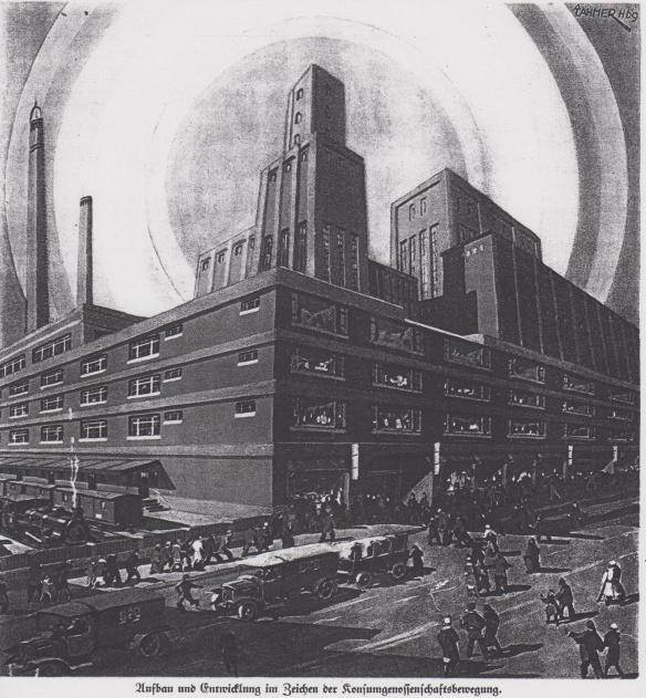 01_Konsumgenossenschaftliches Volksblatt_22_1929_p193_GEG_Konsumgenossenschaften_Neues-Bauen_Produktionsstätten