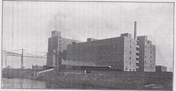 02_Konsumvereinsbote für Rheinland und Westfalen_20_1927_p185_GEG_Mühle_Magdeburg_Produktionsstätte