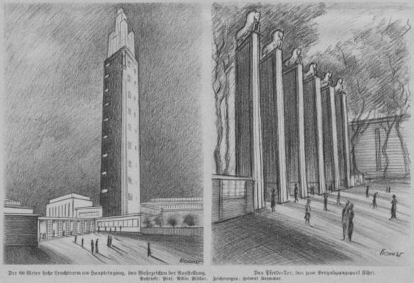04_Zeitbilder_1927_04_24_p04_Theater_Ausstellung_Magdeburg_Leuchtturm