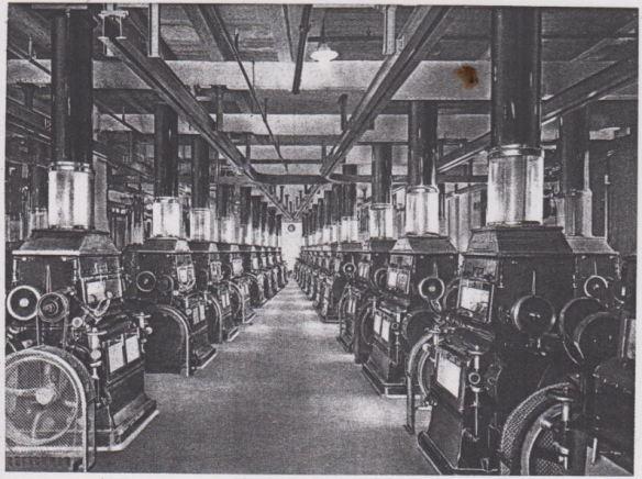 06_Konsumgenossenschaftliches Volksblatt_22_1929_p207_b_Mühle_Magdeburg_Getreideverarbeitung_GEG_Automatisierung_Produktionsstätte