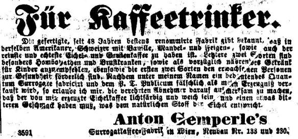 04_Die Presse_1858_07_11_Nr156_p7_Ersatzkaffee_Eichelkaffee_Anton-Gemperle_Wien