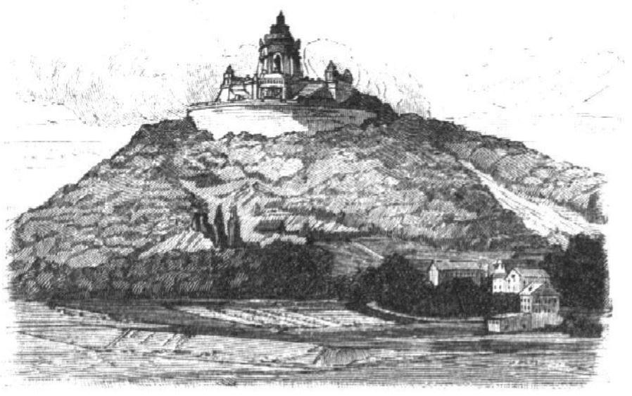 03_Centralblatt der Bauverwaltung_10_1890_p388_Porta-Westfalica_Denkmal_WilhelmI