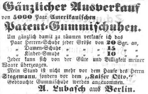 02_Messehandel von A. Lubasch 1860_Magdeburgische Zeitung_1860_02_15_Nr039_p11