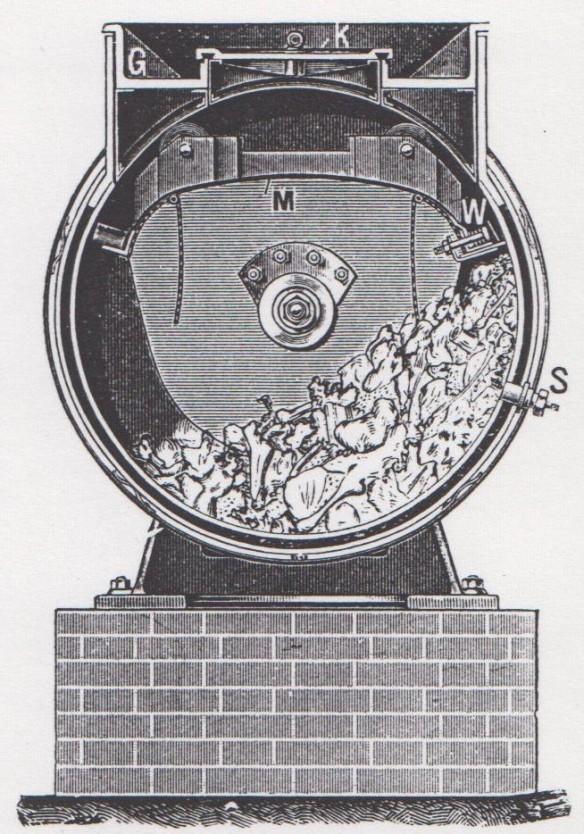 07_Apparate und Transportwagen von Tierkadavern_Berlin-1908_p15_Tierfutter_Desinfektionsapparat_Fleischkörpermehl_Grove