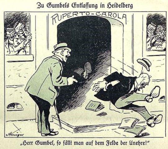 08_Kladderadatsch_85_1932_Nr37_Universität_Gumbel_Heidelberg_Professoren_Pazifismus