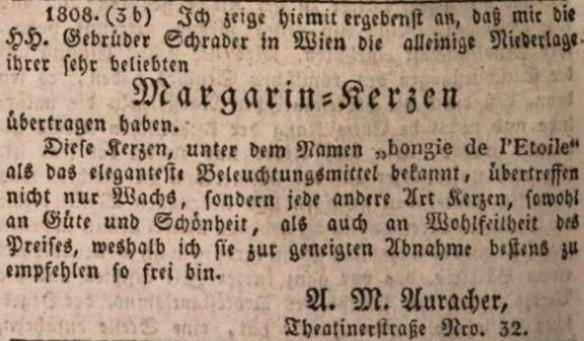 01_Münchener Politische Zeitung_1838_10_24_Nr253_p1560_Margarin-Kerzen