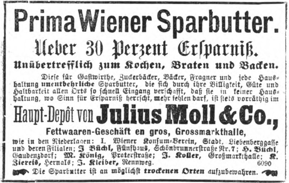 10_Illustrirtes Wiener Extrablatt_1874_05_29_Nr146_p7_Margarine_Sparbutter_Sarg
