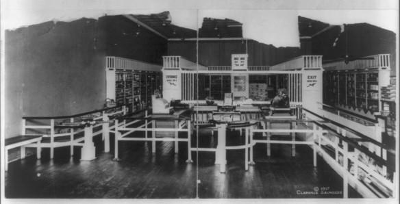 01_Library of Congress_3a33004u_USA_Einzelhandel_Selbstbedienung_Piggly-Wiggly_Memphis_Verkaufsstätte
