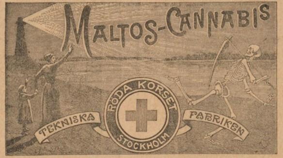 01_Aftonbladet_1894_05_11_p24_Hanfpräparate_Maltos-Cannabis_Sensenmann_Röda-Korset_Stockholm