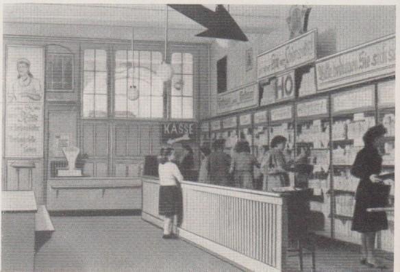 02_Prendel-Wilms_1958_2Snp112_DDR_Selbstbedienung_Verkaufsräume_Einkaufen