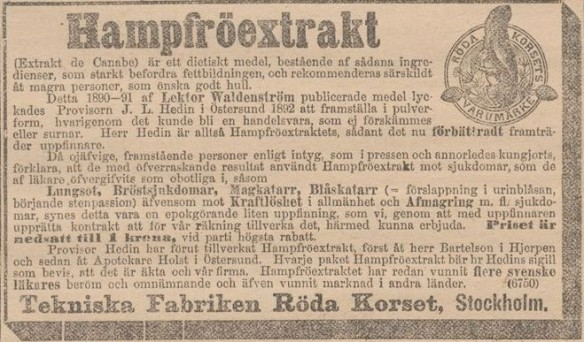 07_Aftonbladet_1893_10_05_p4_Hanfpräparate_Hanfsamenextrakt_Waldenström_Röda-Korset_Stockhalm_Asthma