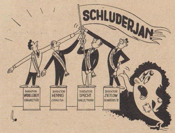 15_Der Handel_06_1956_Nr03_p10_DDR_Einzelhandel_Schluderjan_Kochtopfmethode_Kritik