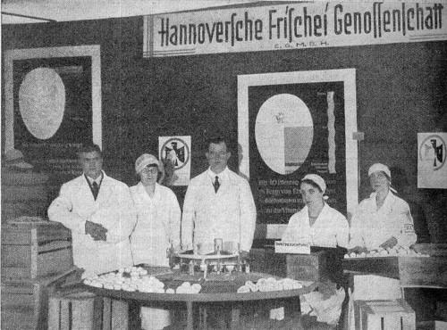 15_Genossenschaftsblatt_20_1931_Nr13_p2_Ausstelllung_Eier_Frischei_Hannover
