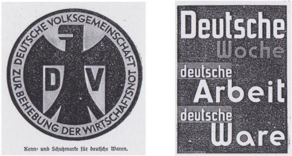16_HLFZ_85_1931_p1096_Landfrau_1931_p176_Deutsche-Wochen_Kennzeichnung_Nationale_Werbung