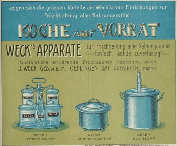 09_Tischlein_1900_p07_Weck_Einmachen_Konservierungsapparate_Einmachgläser