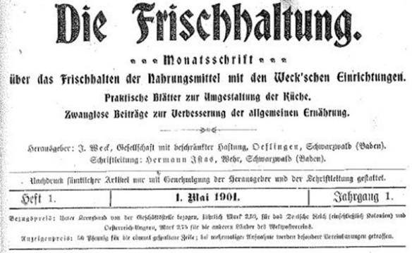 10_Die Frischhaltung_01_1901_H01_p001_Einmachen_Weck_Kundenzeitschrift
