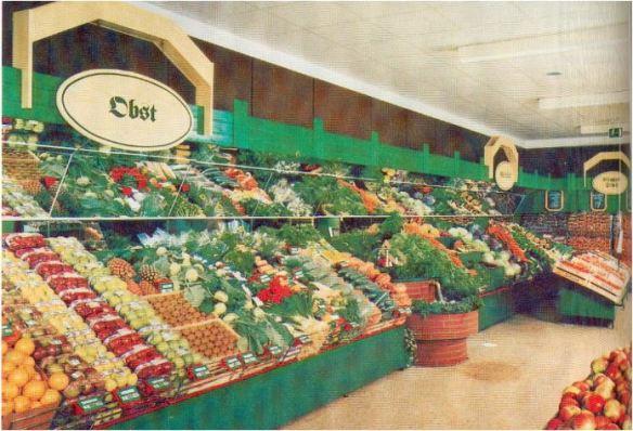 24_Jahre_1988_p152_Supermarkt_Frischeabteilung_Obst_Verkaufsräume