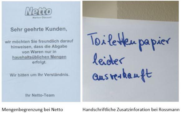 08_Corona-Krise_Netto_Höchstmengen_Rossmann_Toilettenpapier