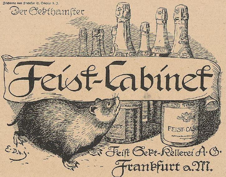 14_Lustige Blaetter_33_1918_Nr28_sp_Sekt_Feist_Frankfurt-M_Hamster