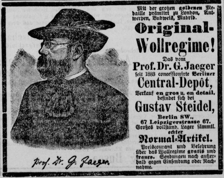 007_Berliner Tageblatt_1886_01_31_Nr055_p21_Reformwaren_Wolle_Gustav-Jaeger_Gustav-Steidel