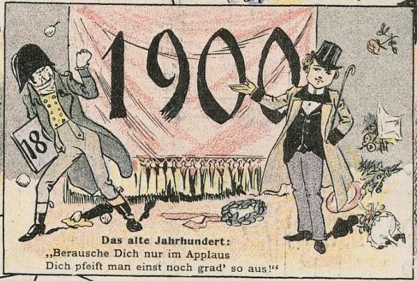 011_Lustige Blaetter_15_1900_Nr01_p16_Jahrhundertwende_Ansichtskarten_Postkarte_Fortschritt