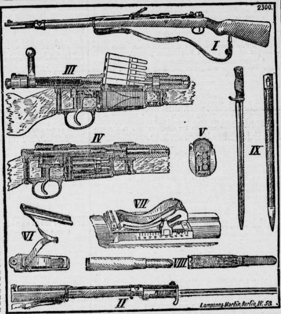 021_Volks-Blatt_1903_01_20_Nr031_p05_Waffen_Gewehr_Mauser_Modell-98_Repetiergewehr