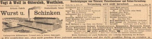 034_Der Bazar_43_1897_p082_Nahrungsmittelindustrie_Fleischwaren_Wurst_Schinken_Produktionsstätte_Vogt-Wolf_Gütersloh_Versandgeschäft