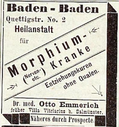 051_Kladderadatsch_045_1892_Nr02_p06_Sanatorium_Entziehungskur_Morphium_Otto-Emmerich_Baden-Baden