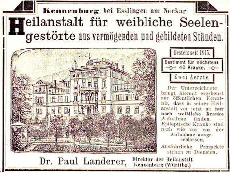 056_Kladderadatsch_045_1892_Nr07_p6_Sanatorium_Psychiatrie_Paul-Landerer_Kennenburg
