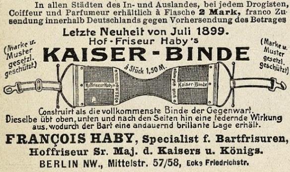 062_Lustige Blaetter_15_1900_Nr01_p12_Bartpflege_Bartbinde_Kaiser-Binde_Francois-Haby