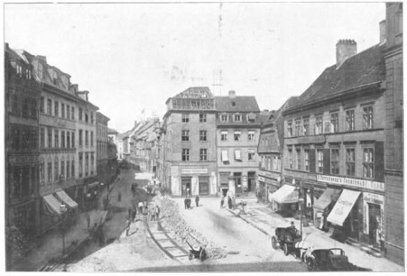 071_Berliner Leben_12_1909_Nr02_p16_Straßenbahn_Trassenbau_Kölln_Fischmarkt_Bauarbeiter