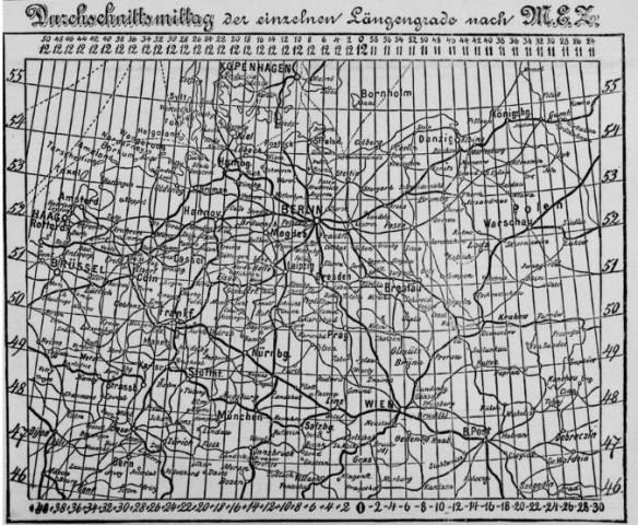 078_Berliner Tageblatt_1893_03_31_Nr166_p01_Zeit_Einheitszeit_Karte_Normierung